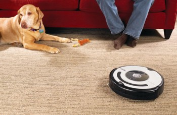 Robot-vacuum specially designed to deal with dog hair